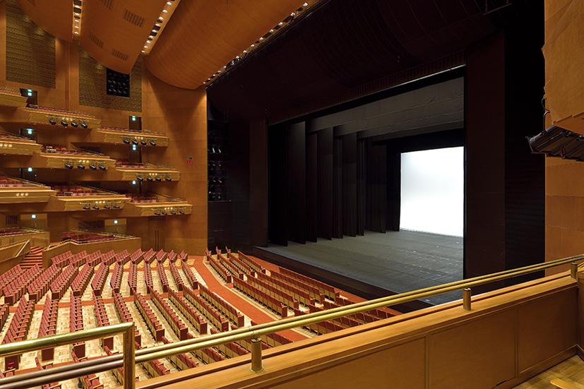 座席案内   大ホール   施設案内   愛知県芸術劇場